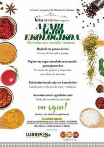 Sustraiak Catering Ekologikoa Hika Ateneo Bilbao
