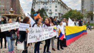 colombia paz a la calle bilbao