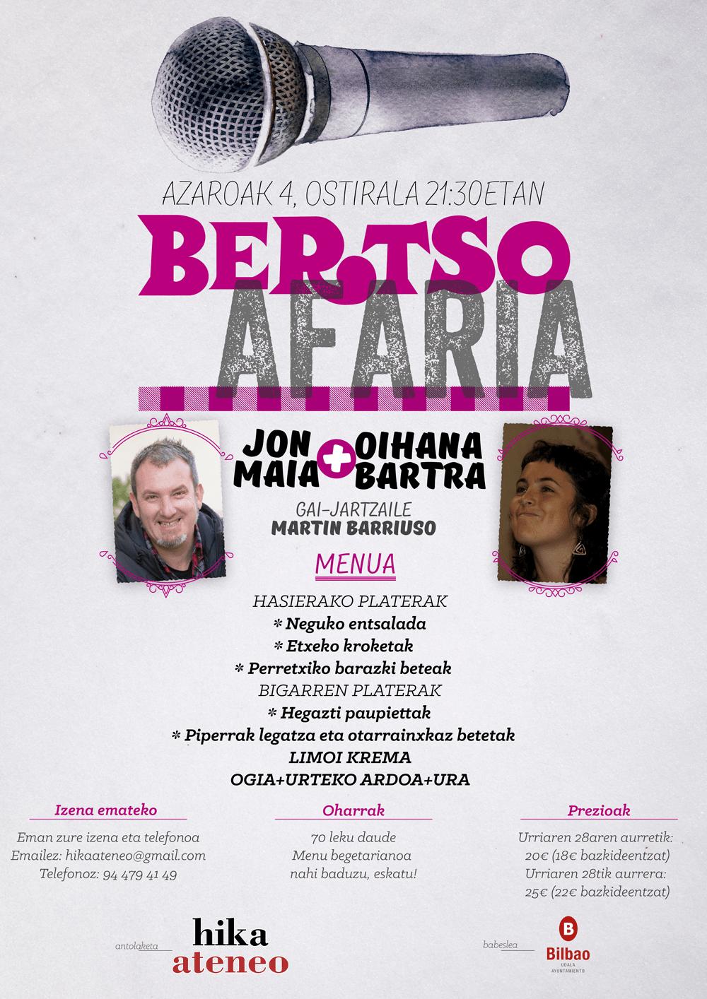 bertsoafaria Hika Ateneo Bilbao 2016