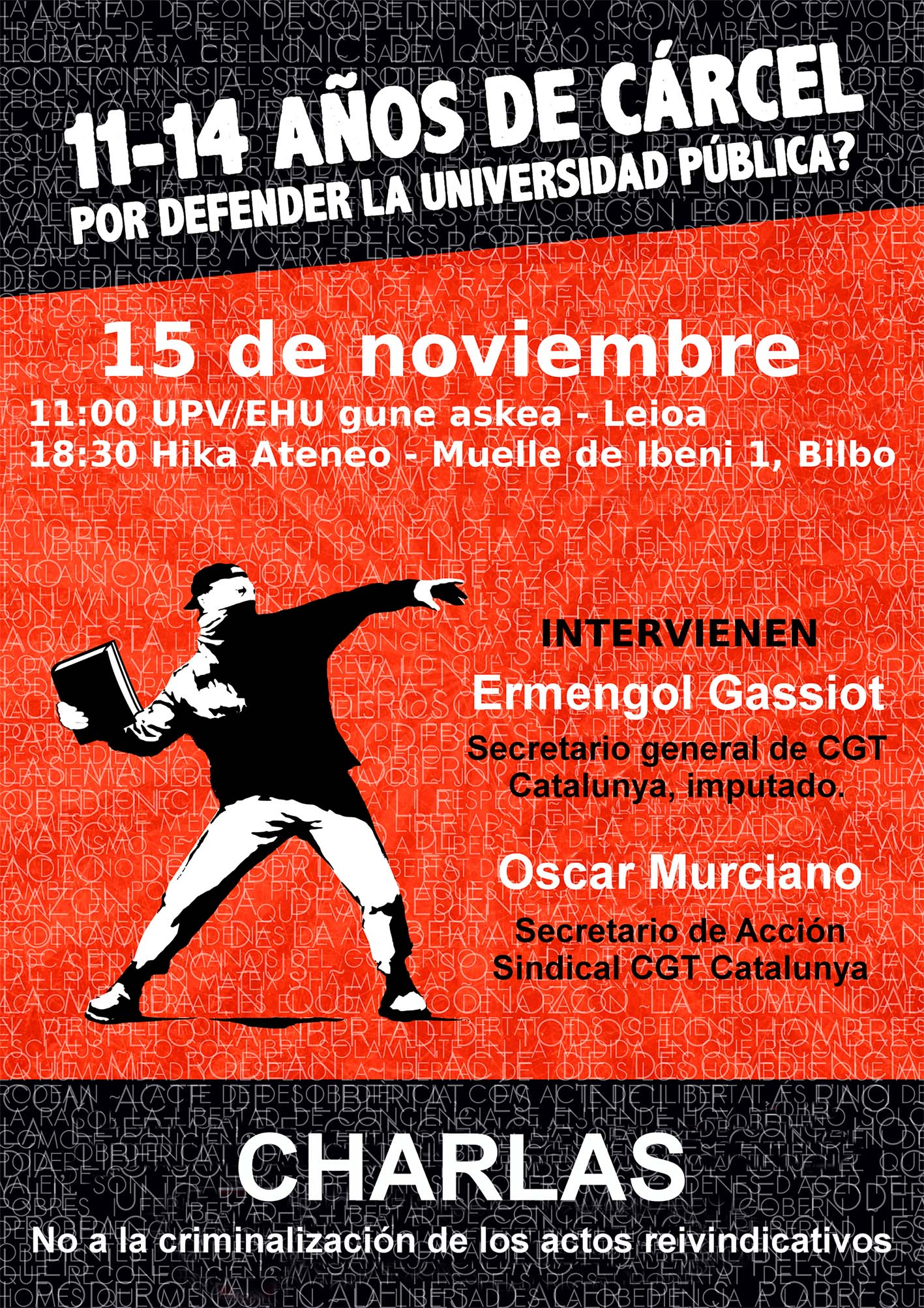 CGT 15-11-2016 castellano hikaateneo Bilbao