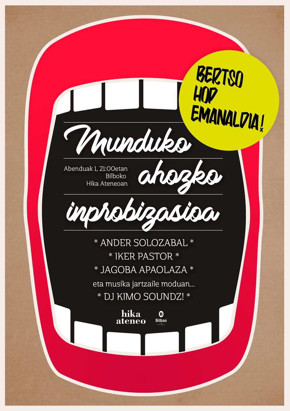 Munduko Ahozko Inprobisazioa 2016 Bertso Hop Emanaldia