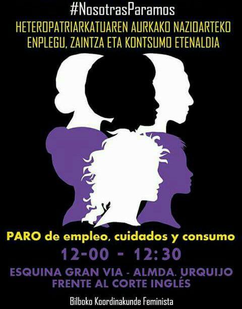Martxoak 8 marzo Bilbao 2017 paro