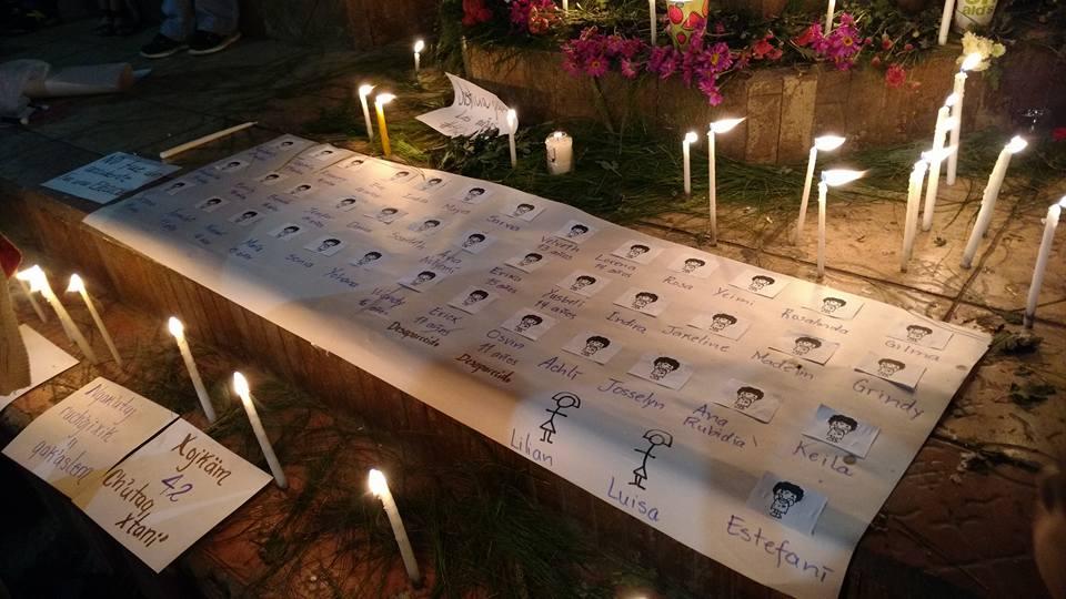Asesinato Niñas Guatemala Foto La Cuerda
