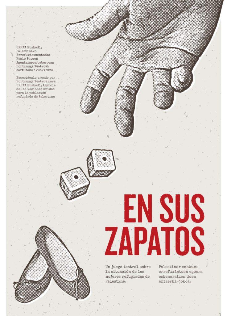 UNRWA Euskadi teatro hikaateneo