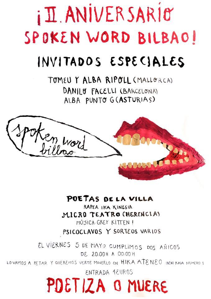 Spoken Aniversario 2017 Bilbao