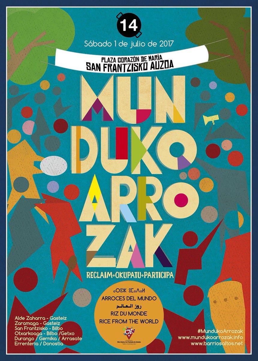 Munduko Arrozak Bilbao 2017
