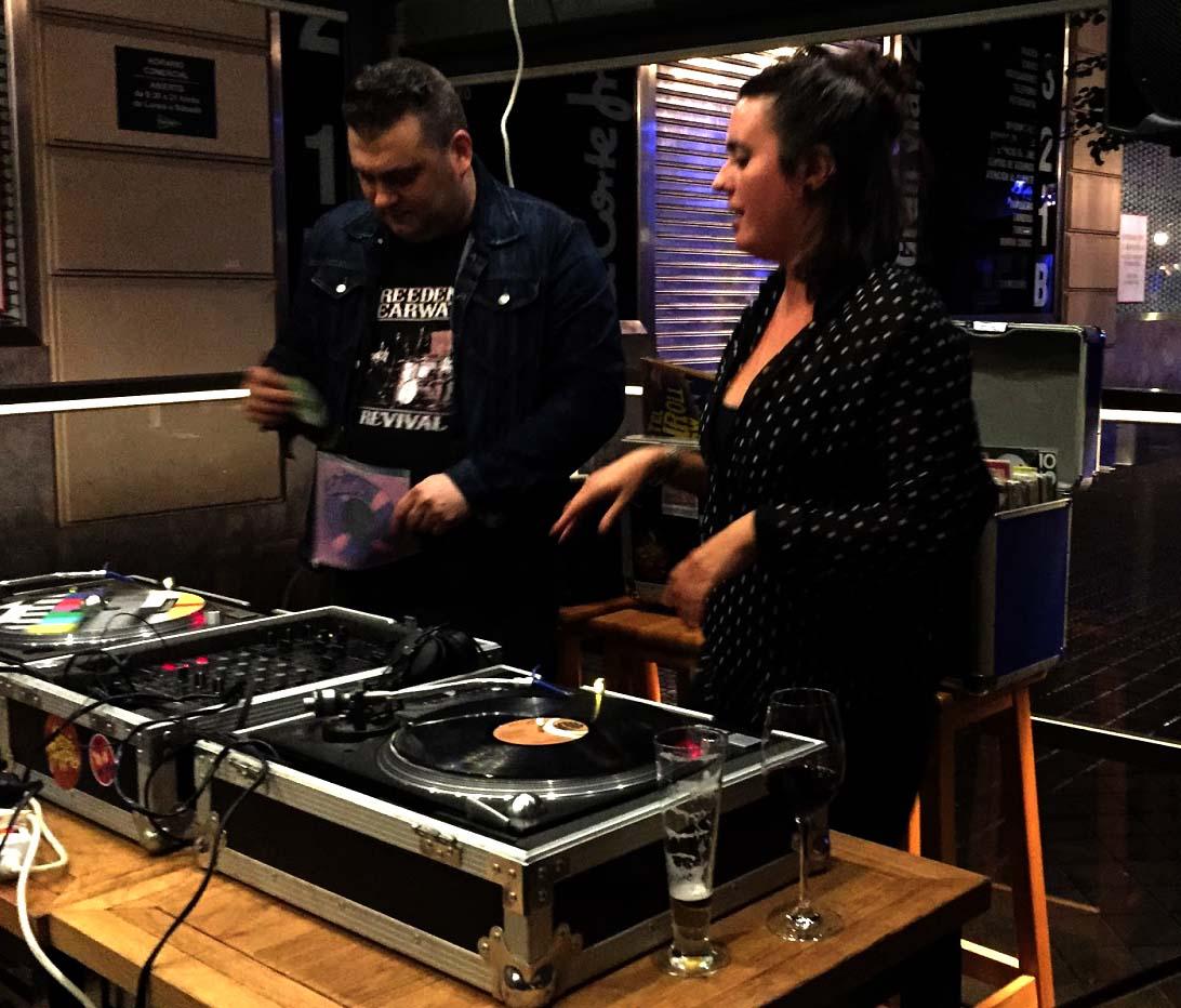 VINILOS DEL MUNDO: DJ. GO FREAK @ Hika Ateneo. Bilbo