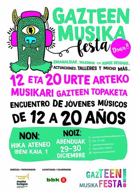 Gazteen Musika Festa 2017