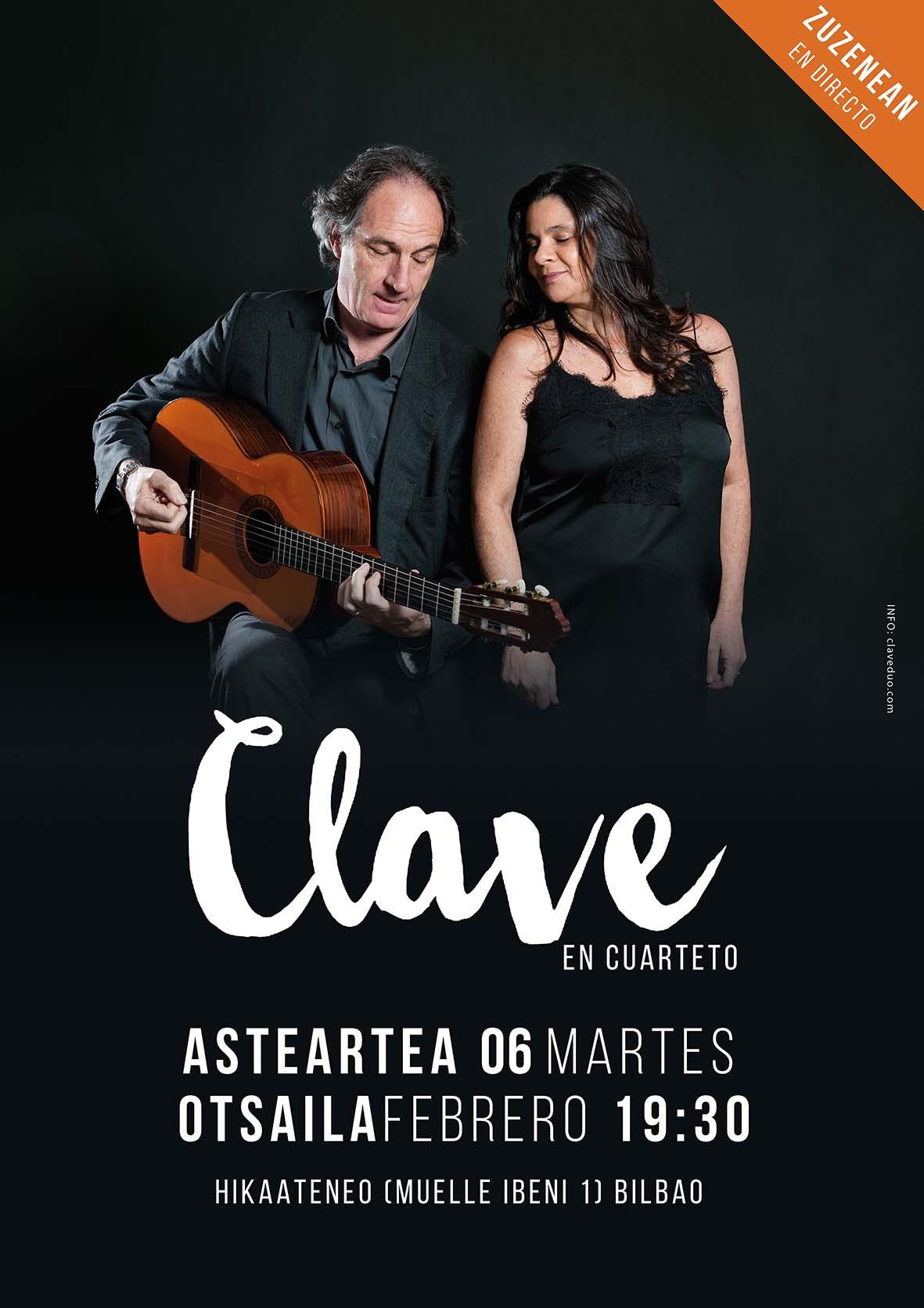 Clave Cuarteto Hika Bilbao