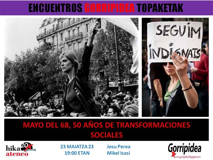 Gorripidea Mayo 68 Hika Bilbao