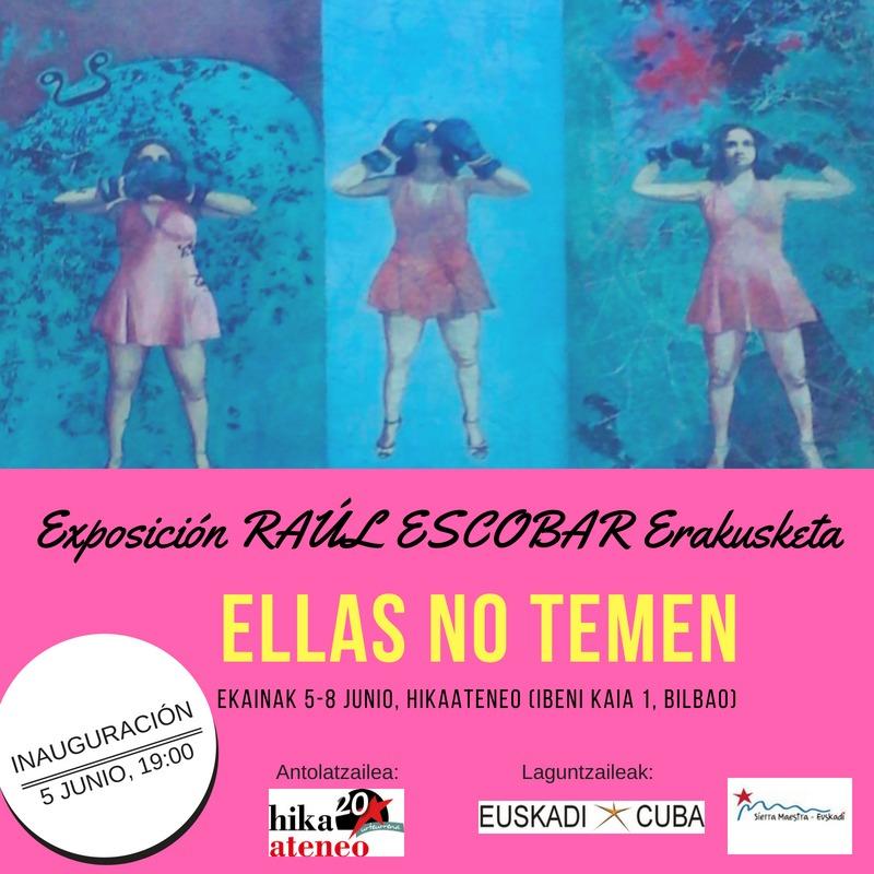 Expo Raul Escobar Bilbao Cuba