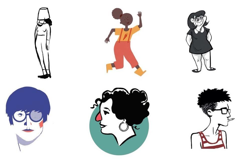 Dones dibuixades Bilbao