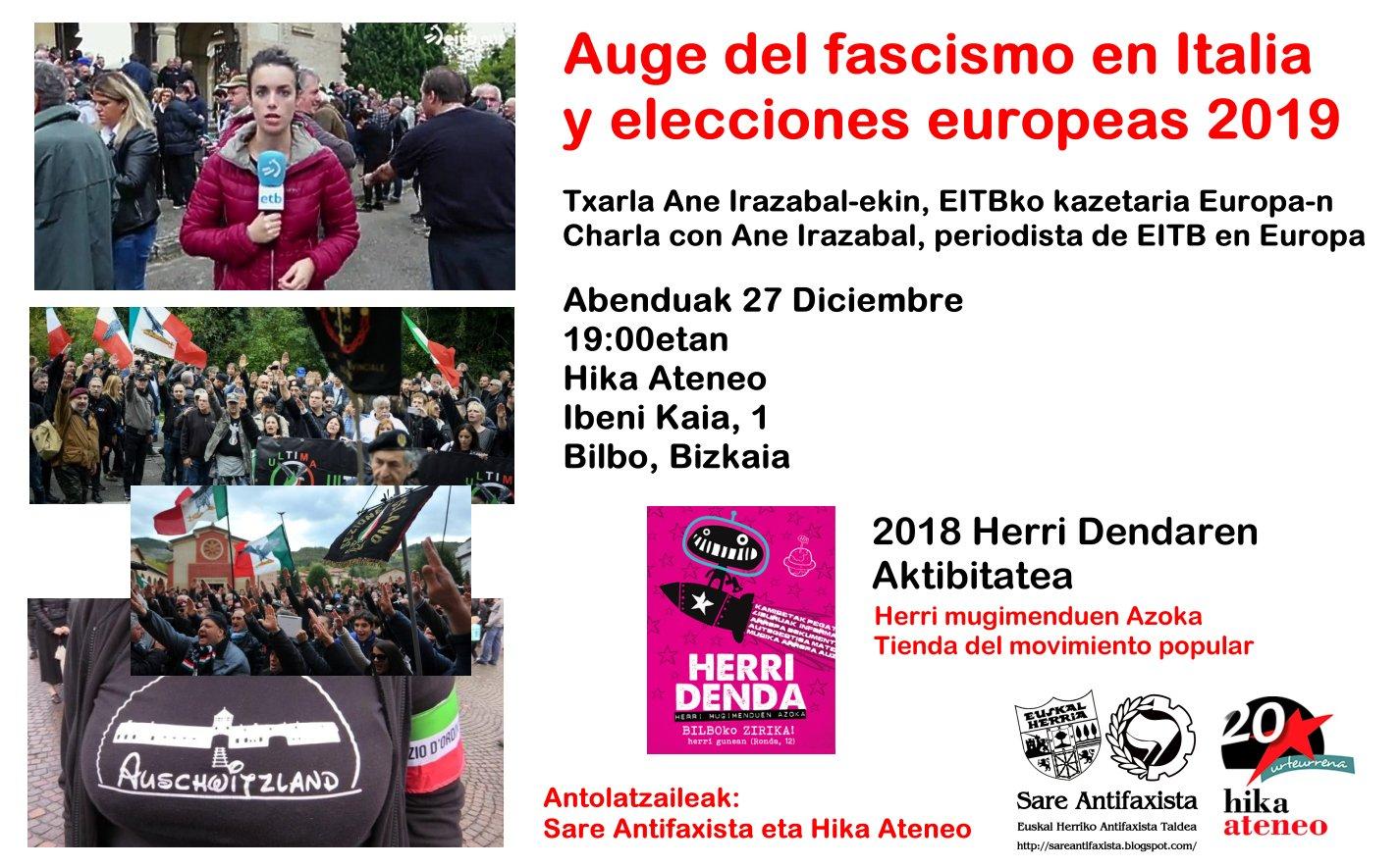 Sare Antifaxista Ane Irazabal Bilbao