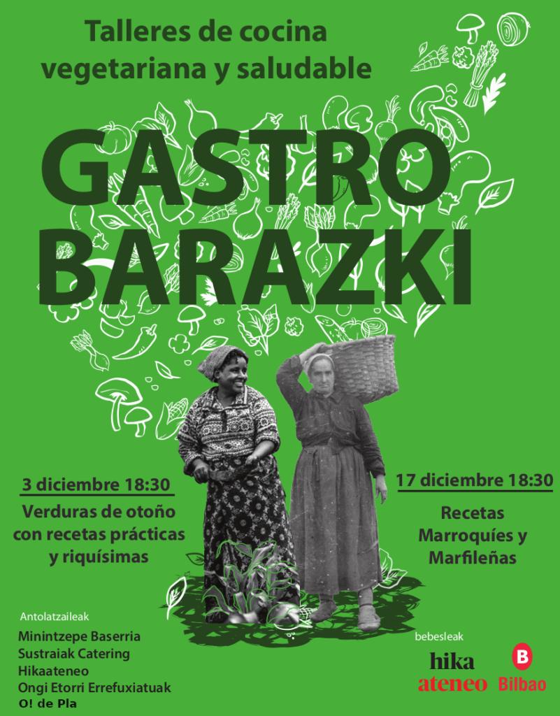 Libro de recetas de los talleres Gastrobarazki 2019