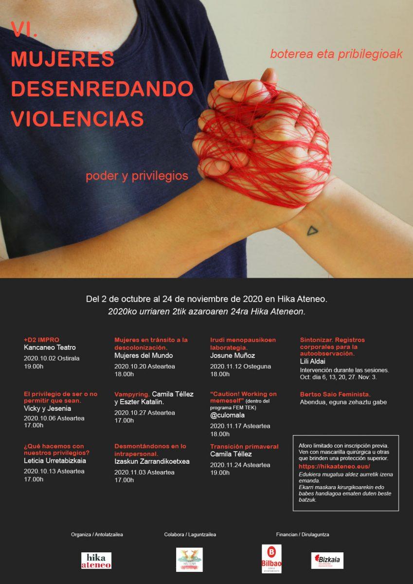 Mujeres desenredando violencias
