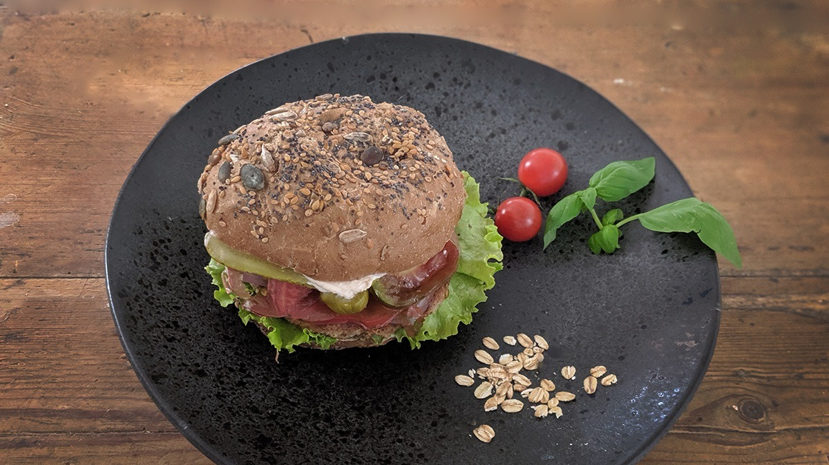 burger vegetariana eco bio sustraiak