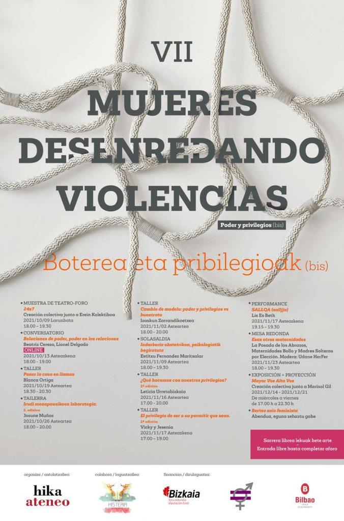 MUJERES DESENREDANDO VIOLENCIAS 2021
